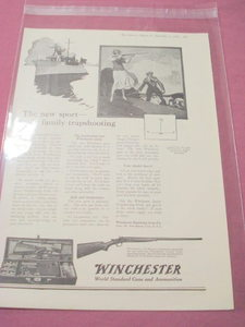 1919 Ad Winchester Repeating Arms Co., New Haven, Ct.