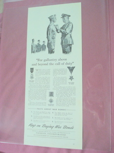 1943 Pacquin Hand Cream WWII Ad Keep On Buying War Bonds