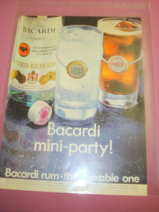 1969 Bacardi Rum Ad In Color