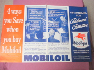 1939 2 Page Mobil Gas Mobil Oil Ad With Pegasus Horse