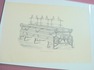 1880 Illustrated Page Double Cylinder Twister Machine