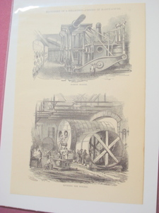 1880 Illustrated Page Marine Engine & Riveting Boilers