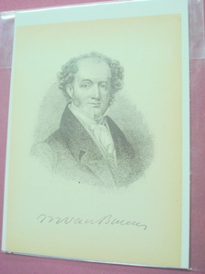 1898 Illustrated Page President Martin Van Buren