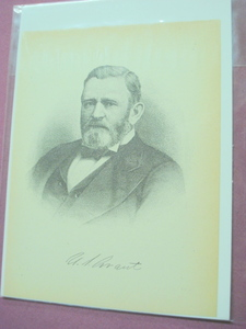 1898 Illustrated Page President Ulysses S. Grant