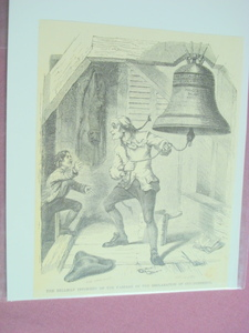 1860 Illustration Bellman Declaration of Independence