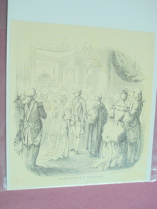 1860 Illustration of George Washington's Wedding