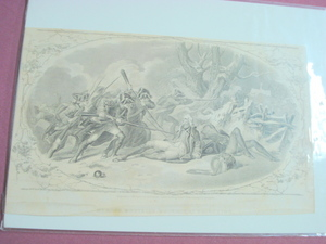 1860 Illustration Mercer Mortally Wounded At Princeton