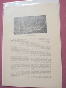 A Phantom of the Mines 8 Page Illustrated Story 1894