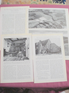 1945 Magazine Article Preserving England's Historic Treasures