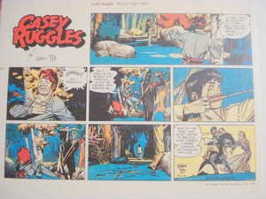 Color Illustrated Half Page Casey Ruggles