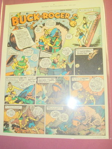 Color Illustrated Page Buck Rogers