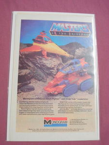 1983 Masters of the Universe Monogram Models Ad MOTU