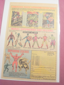 1975 Marvel Statues & Toys Ad Spider-Man Thor Iron Man