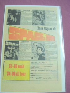 1980 Space:1999 Book Ad With Descriptions