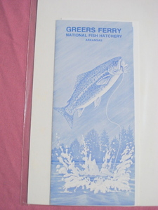 1984 & 1989 Greers Ferry National Fish Hatchery Booklets