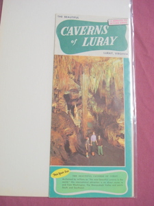Luray Caverns Luray, Virginia 1954 Color Brochure