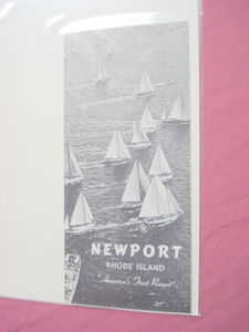 50s/60s Newport, Rhode Island Travel Brochure