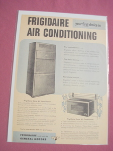 1940's/50's Frigidaire Air Conditioning Ad Conditioner