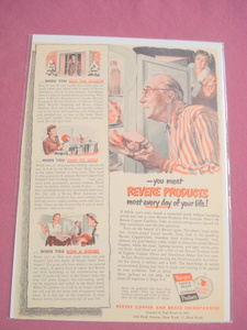 1940's/50's Revere Copper and Brass Products Ad