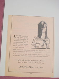 1924 Ad-Luxite, Milwaukee, Wisc.-Luxite Silk Lingerie