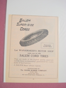 1924 Ad-Salem Rubber Company-Salem, Ohio-Salem Tires
