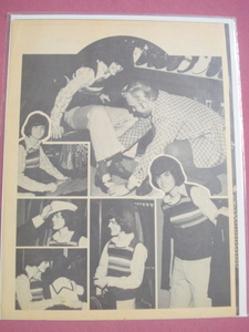 1973 Two Page Magazine Article Donny Osmond Back To School