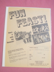 1973 Osmonds Funtime Kit One Page Promo Ad With Photos