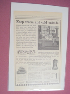 1915 American Radiators & Ideal Boilers Ad