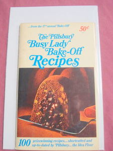 Pillsbury 17th Annual Bake-Off Cook Book 1966 Cookbook