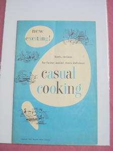 1954 Casual Cooking By Reynolds Aluminum Company