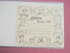 1894 Franco American Soups Illustrated Ad
