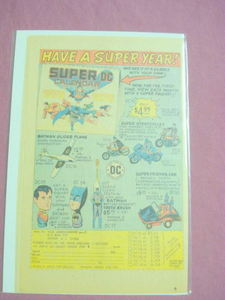 1976 NCG Superhero Merchandise Ad Superman Batman