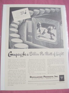 1948 Ad Distillation Products, Inc. Rochester, N.Y. DPI