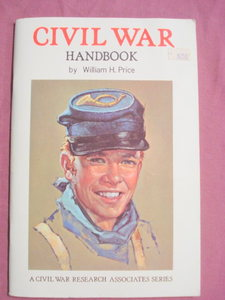 Civil War Handbook William Price 1961 Softcover