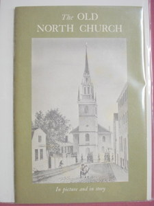 The Old North Church Boston David L. Clark 1960's Softcover Booklet