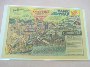 1973 Ad Task Force Navy Set & Tank Trap Army Set