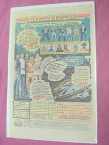 1980 Heroes World Star Trek The Movie Figures Color Ad