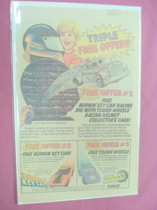 1982 Kidco Tough Wheels & Racing Helmet Case Ad