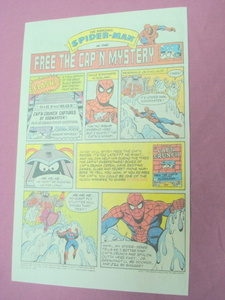 1987 Cap'n Crunch and Spider-Man Ad