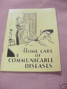 Home Care of Communicable Diseases 1936 John Hancock SC