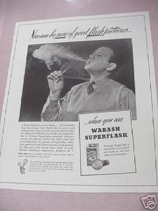 1941 Wabash Superflash Photography Ad Wabash Photolamp