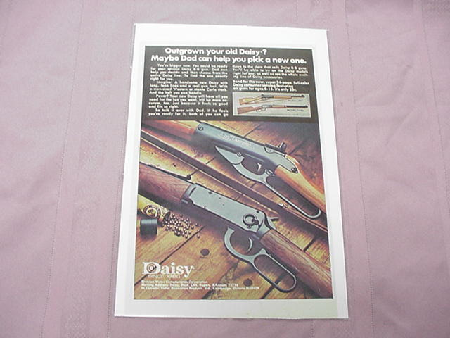 1976 Daisy BB Gun Color Ad