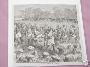 1889 Africa Illustrated Page Grant Going To Uganda