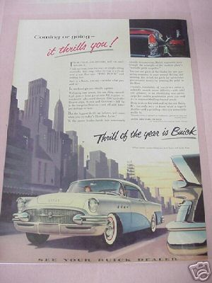 1955 Buick Ad