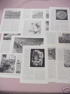 1931 Maya Archeological Magazine Article