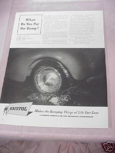1941 Ad Bristol Company, Waterbury, Ct Time Controllers