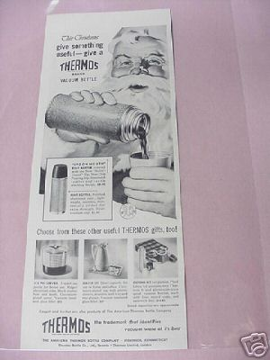 1953 American Thermos Bottle Company Ad Norwich, Ct.