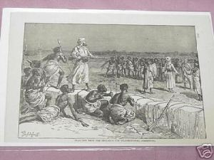 1889 Africa Illustrated Page Unconditional Surrender