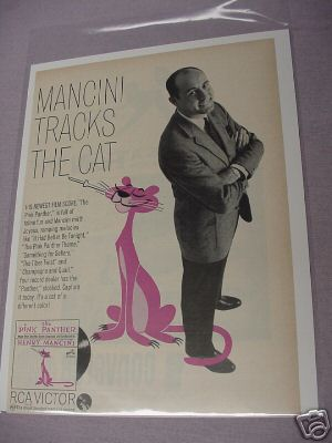 1963 Pink Panther Henry Mancini Record Ad