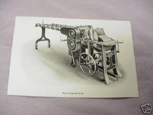 1925 Illustrated Page Whitin Silver Lap Machine
